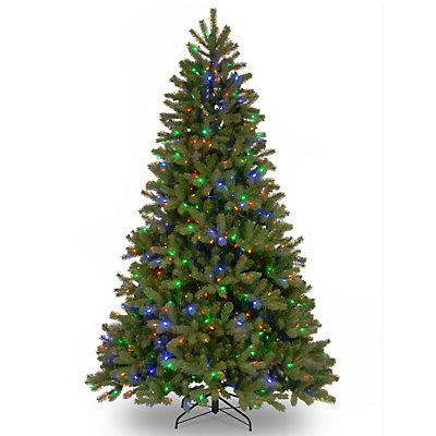 National Tree Company 6.5-ft. LED Douglas Fir Slim Artificial Christmas Tree