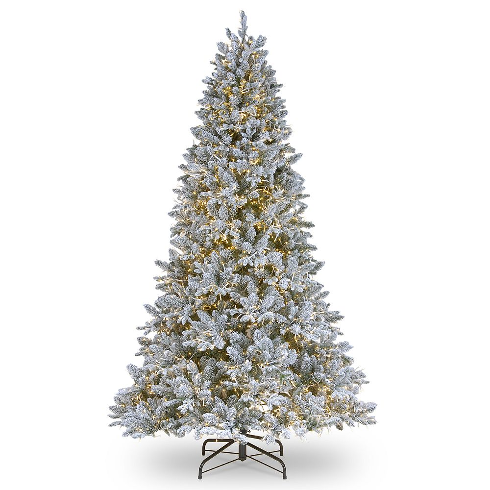National Tree Company 6.5-ft. Pre-Lit Iceland Fir Artificial Christmas Tree