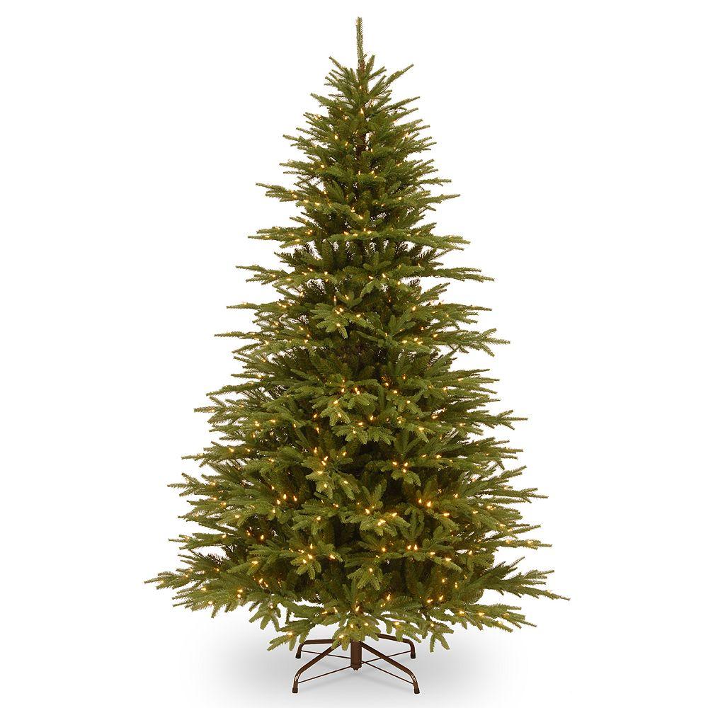 "National Tree Company 90"" Pre-Lit Monterey Fir Artificial Christmas Tree"