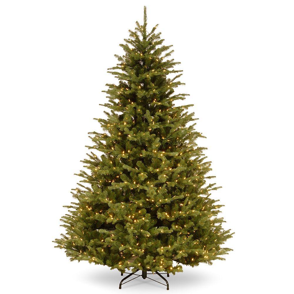 National Tree Company 7.5-ft. LED Ridgedale Fir Artificial Christmas Tree