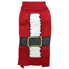 Woof Santa Pet Sweater