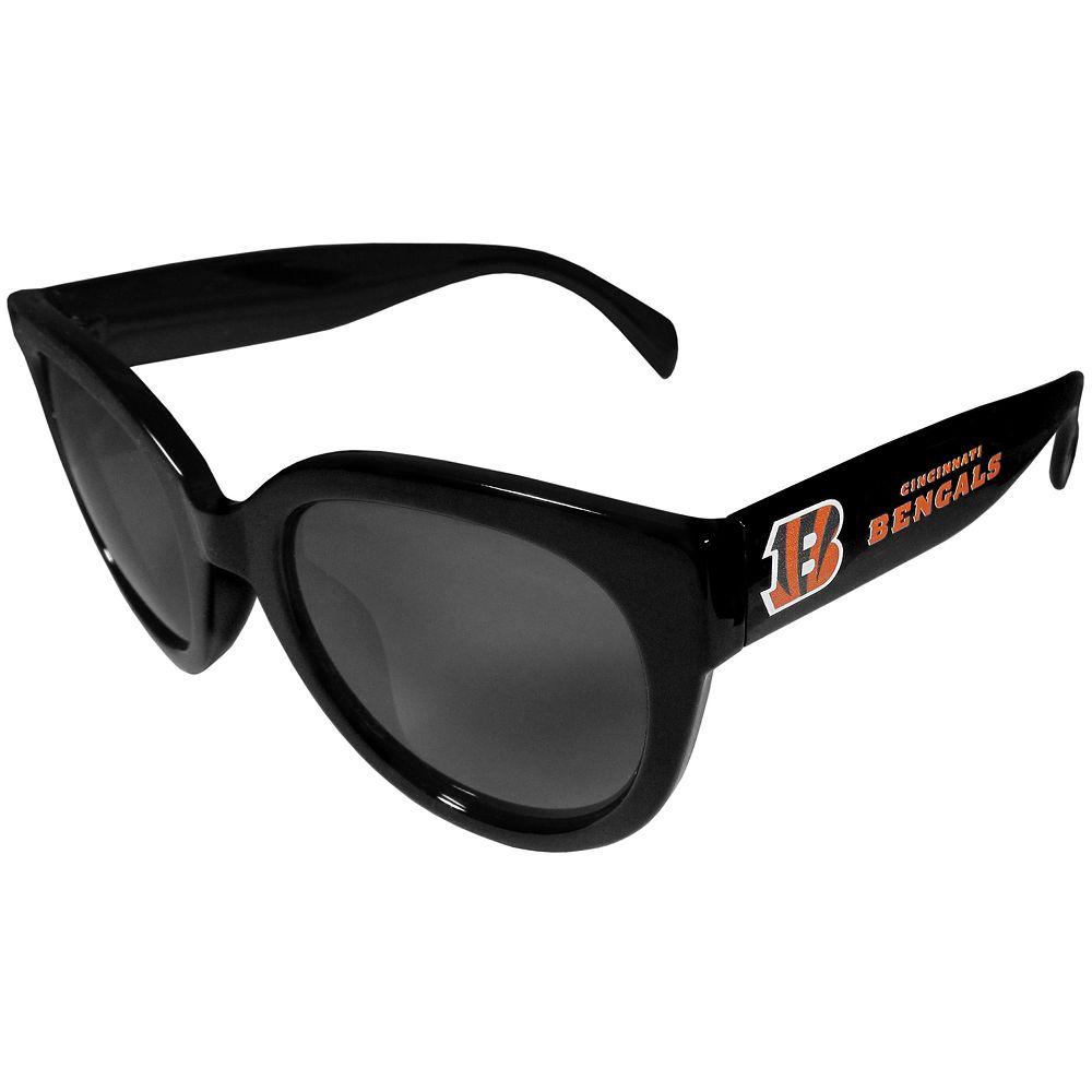 Women's Cincinnati Bengals Cat-Eye Sunglasses