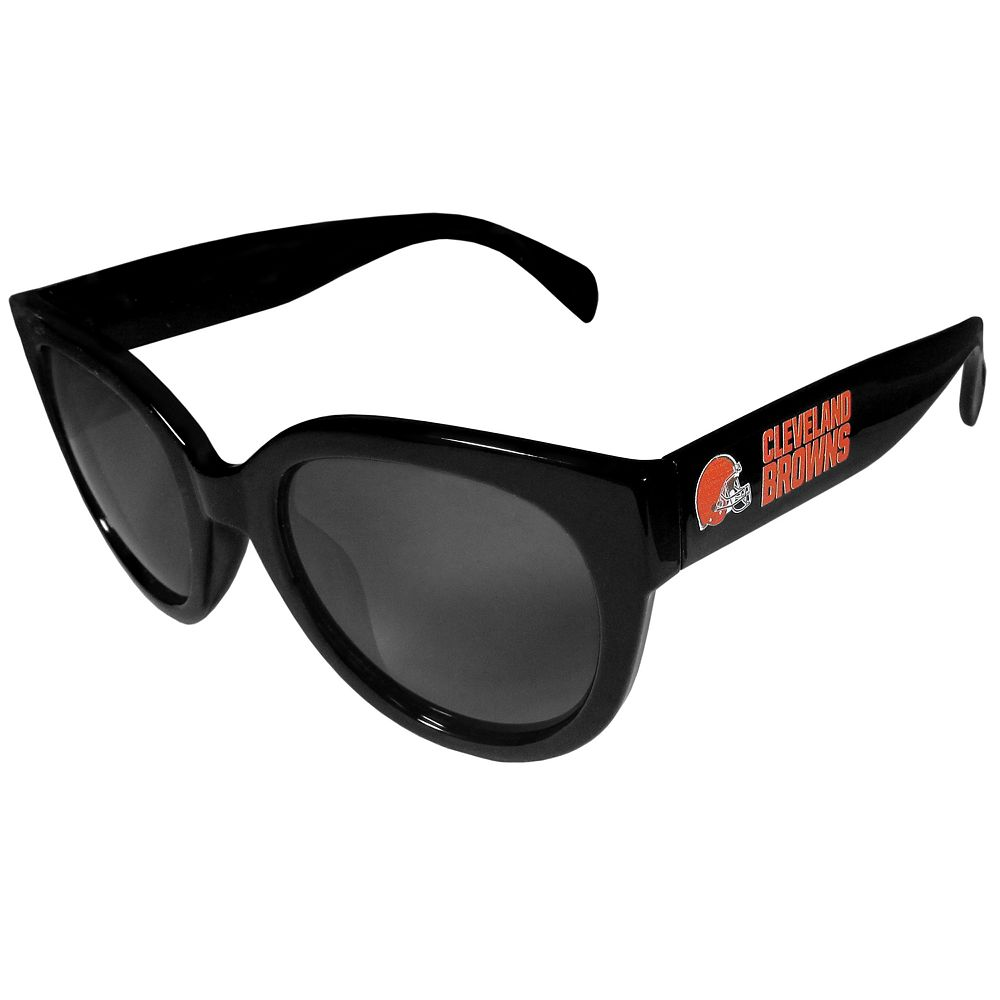 Women's Cleveland Browns Cat-Eye Sunglasses