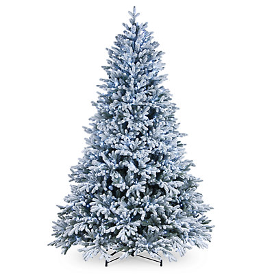 National Tree Company 7.5-ft. LED Flocked Hamilton Spruce Artificial Christmas Tree