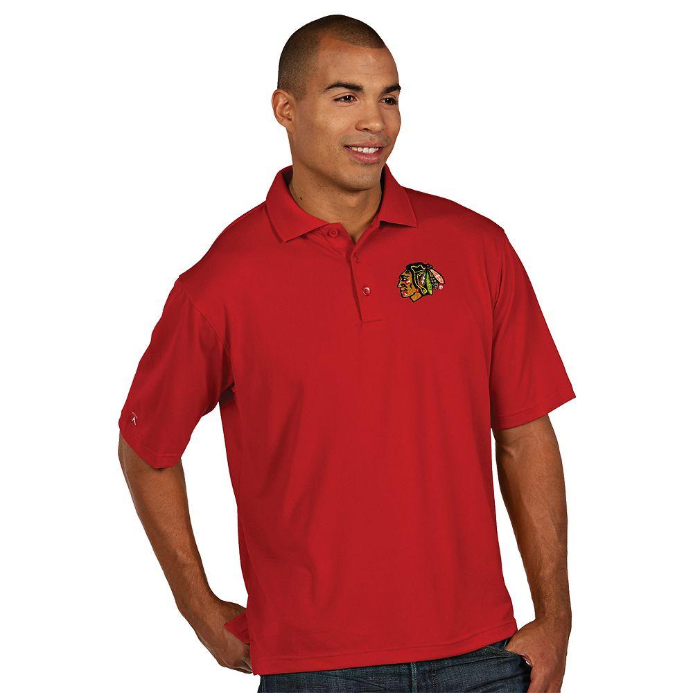 Men's Antigua Chicago Blackhawks Xtra-Lite Polo