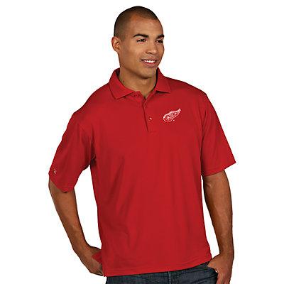 Men's Antigua Detroit Red Wings Xtra-Lite Polo