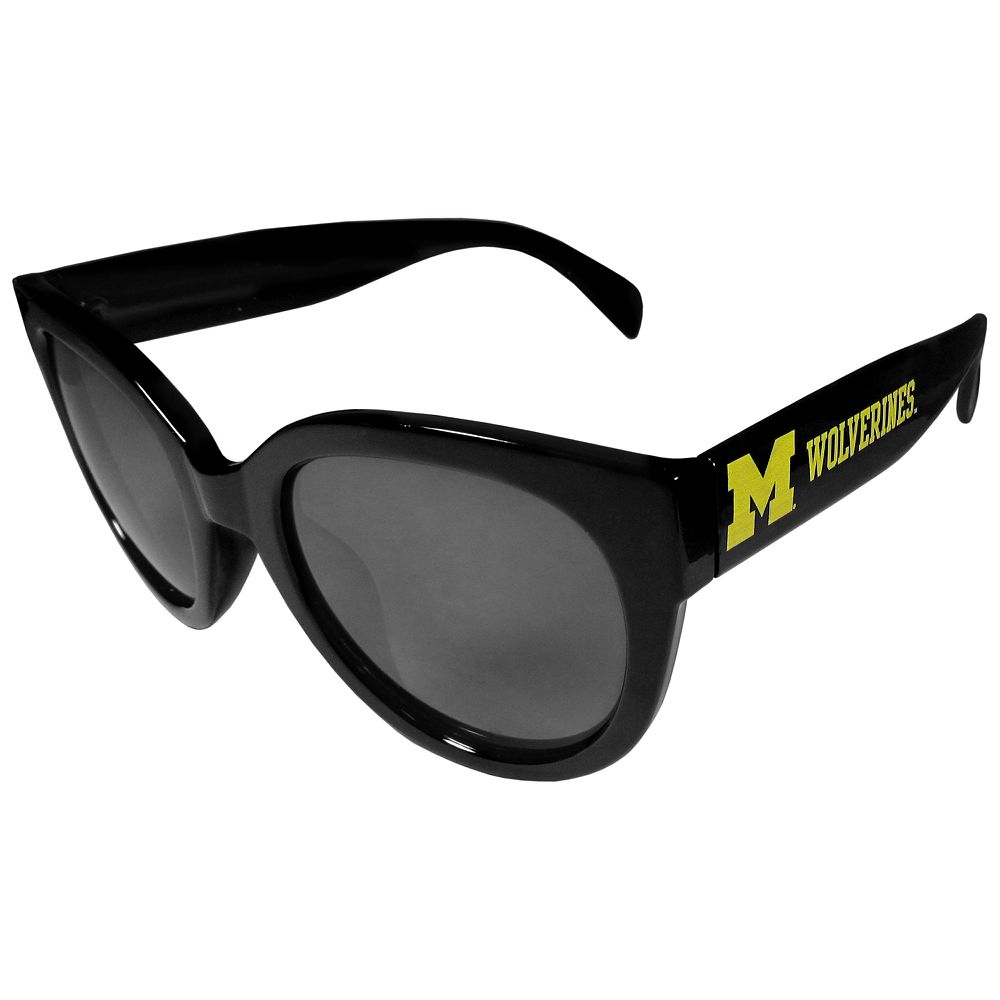 Women's Michigan Wolverines Cat-Eye Sunglasses
