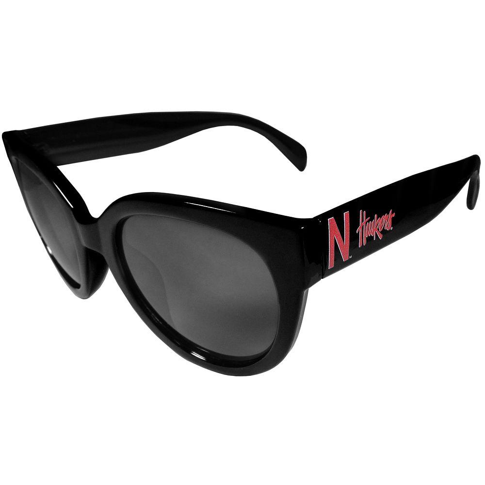 Women's Nebraska Cornhuskers Cat-Eye Sunglasses