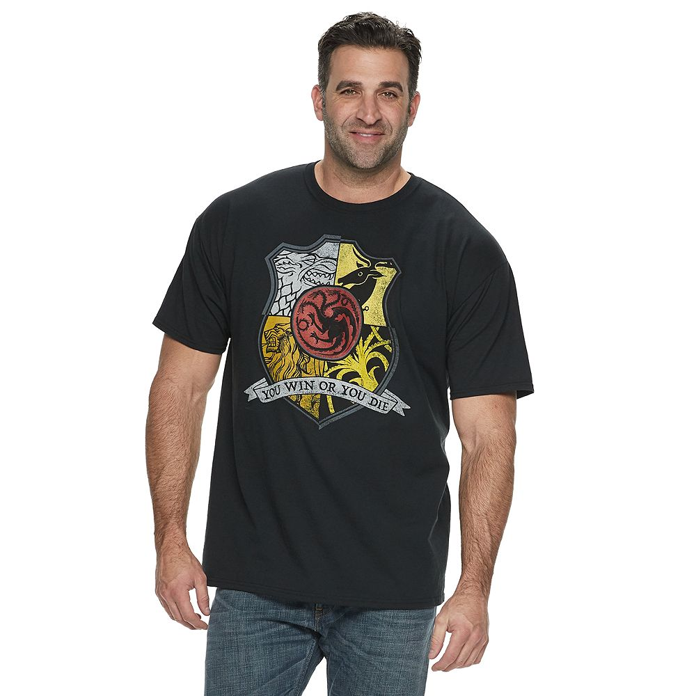 Big & Tall Game of Thrones Graphic Tee