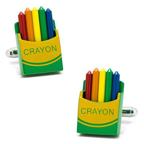 Men's CufflinksInc Crayon Box Cuff Links