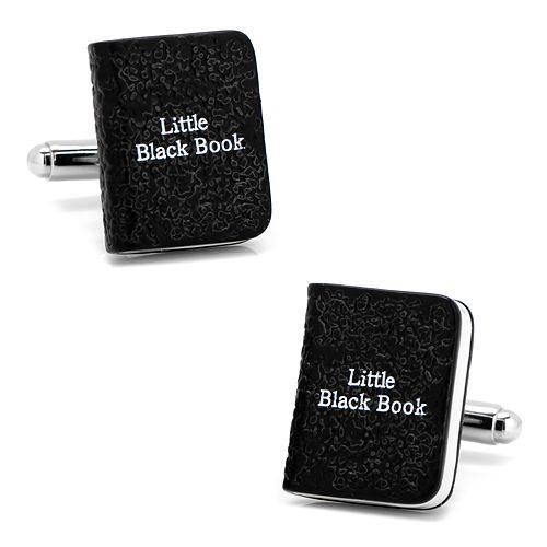 Men's CufflinksInc Little Black Book Cuff Links