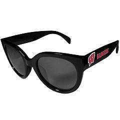 Women's Wisconsin Badgers Cat-Eye Sunglasses