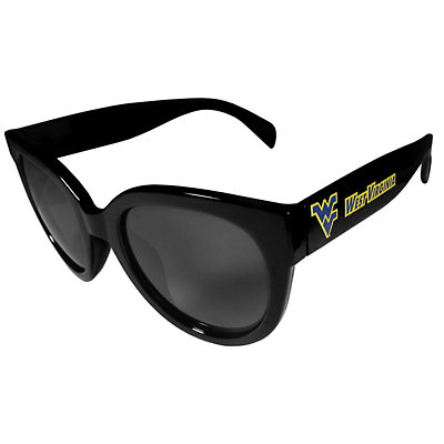 Women's West Virginia Mountaineers Cat-Eye Sunglasses