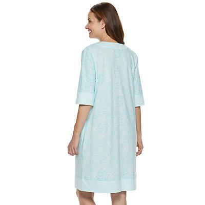 Women's Croft & Barrow® Zip-Front Robe