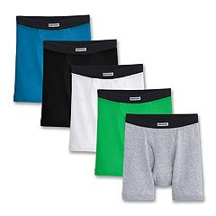 Boys Fruit Of The Loom 5-Pack Boxer Briefs