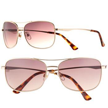 fa403c3c39a53 Men s Apt. 9® Gold Aviator Sunglasses