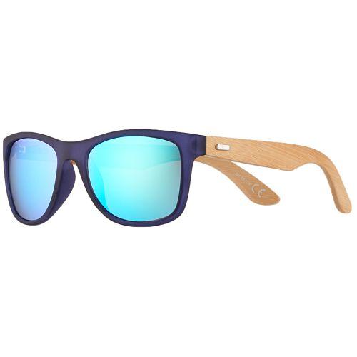 Men's Apt. 9® Blue Mirror Navy Matte Sunglasses