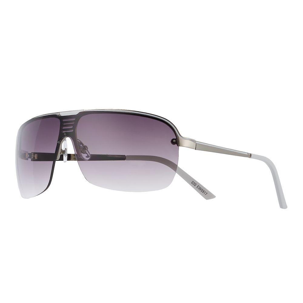 Men's Apt. 9® White Tip Smoke Gradient Sunglasses
