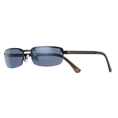 Men's Apt. 9® Shiny Gunmetal Sunglasses