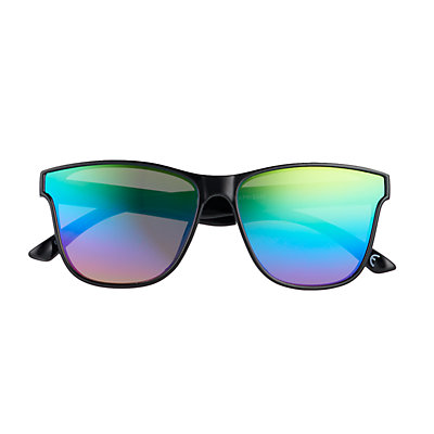 Men's Apt. 9® Flat Lens Rainbow Mirror Sunglasses