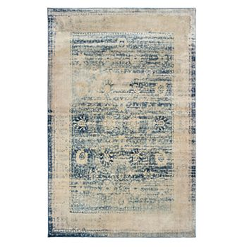 StyleHaven Perla Distressed Border Traditional Rug