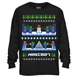 Boys 8-20 Minecraft Snowball Fight Tee