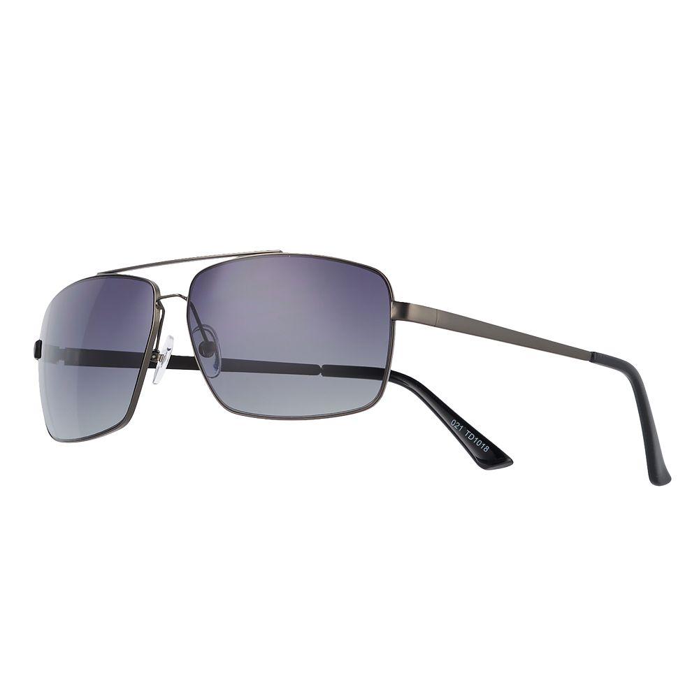 Men's Apt. 9® Gunmetal Sunglasses