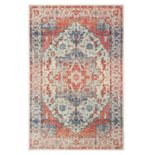 StyleHaven Perla Distressed Medallion Rug