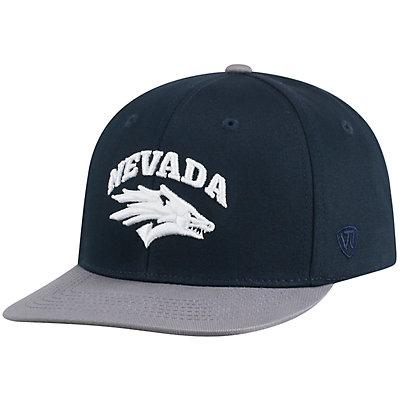 Men's Top of the World Nevada Wolf Pack Maverick Flat Bill Cap