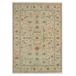 StyleHaven Arcadia Antiqued Border Wool Rug