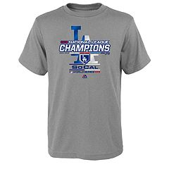 Boys 8-20 Los Angeles Dodgers 2018 National League Champions Tee