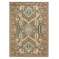 StyleHaven Arcadia Distressed Tribal Wool Rug