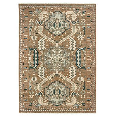 StyleHaven Arcadia Distressed Tribal Wool Rug