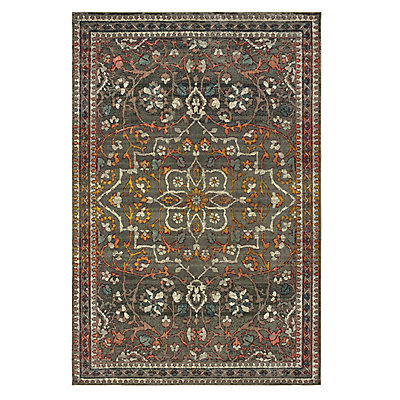 StyleHaven Marcus Distressed Medallion Rug