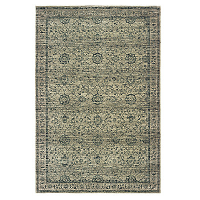 StyleHaven Marcus Distressed Floral Traditional Rug