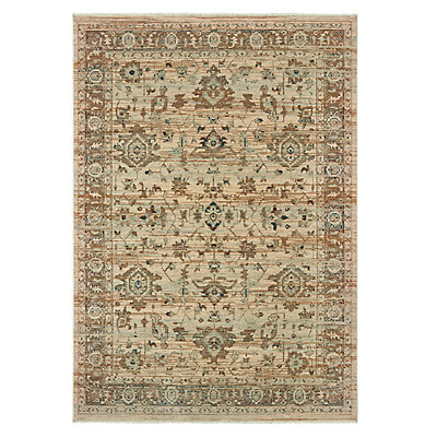StyleHaven Arcadia Antiqued Traditional Wool Rug
