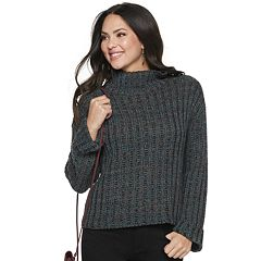 Women's Apt. 9® Boxy Mockneck Sweater