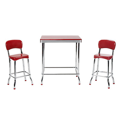COSCO Stylaire High Top Table & Chair 3-piece Set