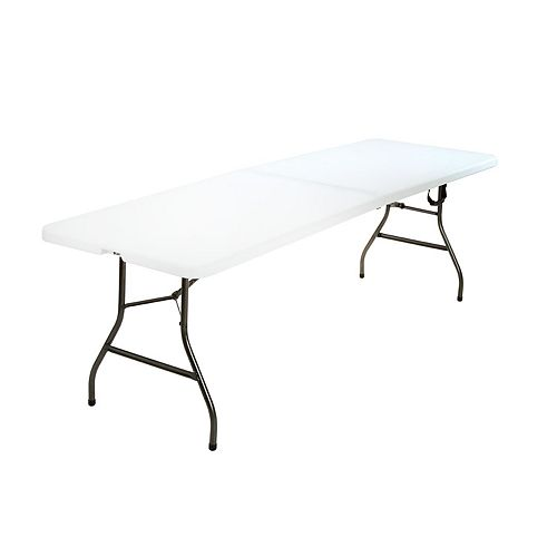 COSCO Deluxe Fold-in-Half Folding Table