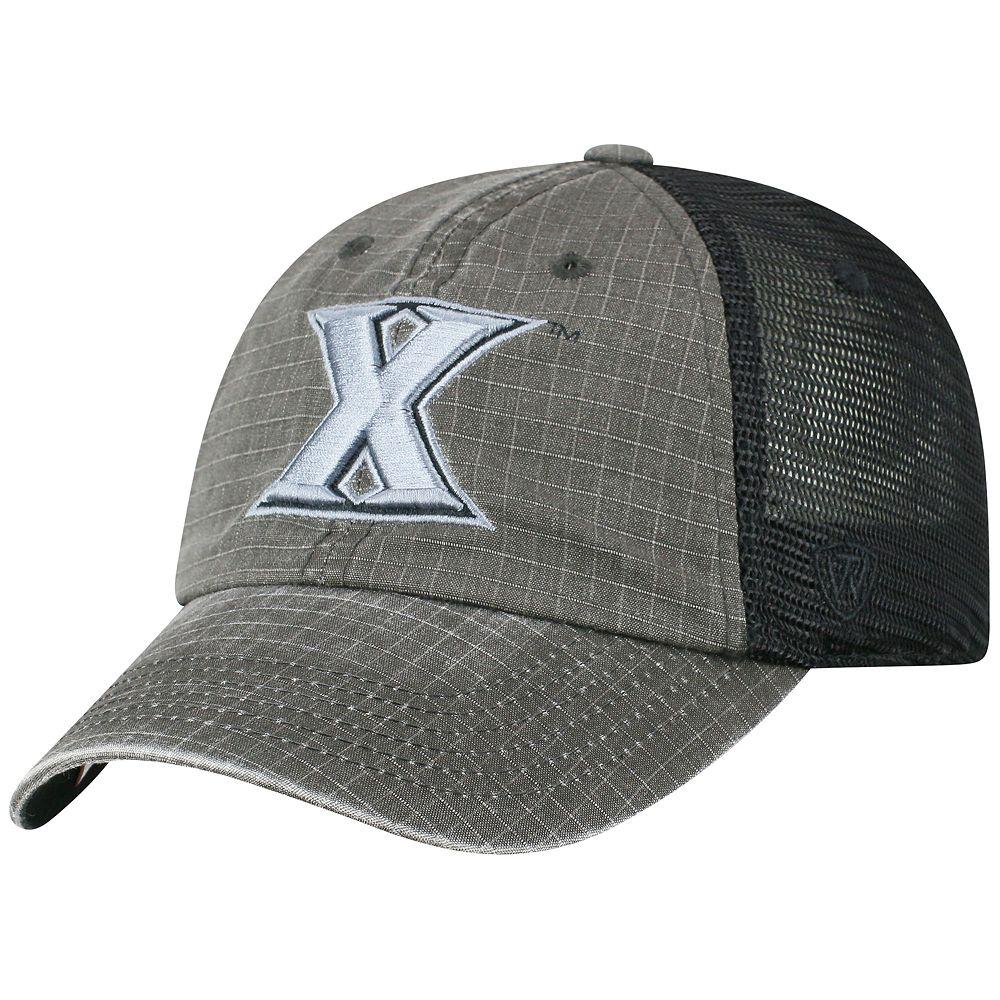 Adult Top of the World Xavier Musketeers Ploom Ripstop Cap