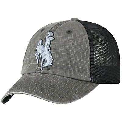 Adult Top of the World Wyoming Cowboys Ploom Ripstop Cap