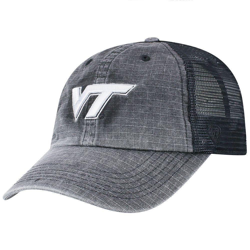 Adult Top of the World Virginia Tech Hokies Ploom Ripstop Cap