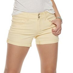 80a3ae945 Juniors Yellow Shorts - Bottoms, Clothing   Kohl's