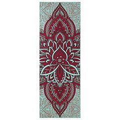 Gaiam 6mm Premium Reversible Zara Rogue Yoga Mat