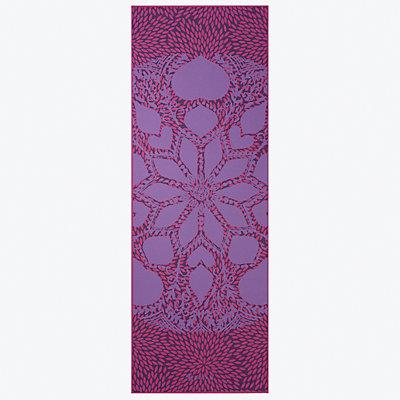 Gaiam 6mm Premium Reversible Lilac Aurora Yoga Mat