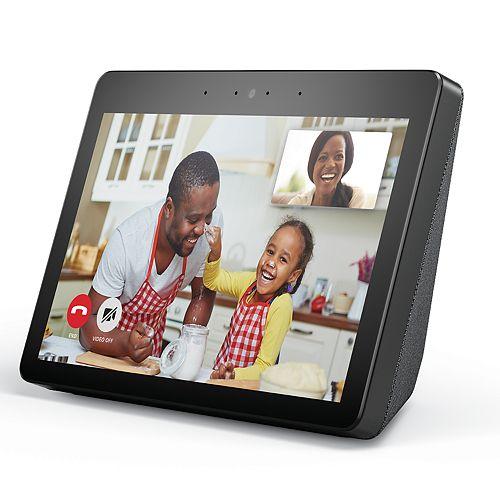 "Amazon Echo Show (2nd Gen) Smart Speaker with Alexa and 10.1"" HD Screen"