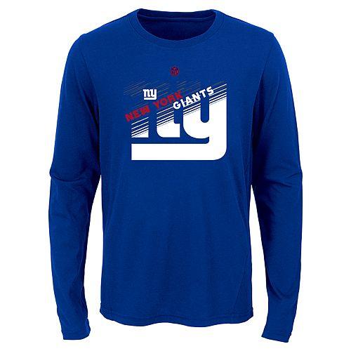 Boys 8-20 New York Giants Flux Ultra Tee