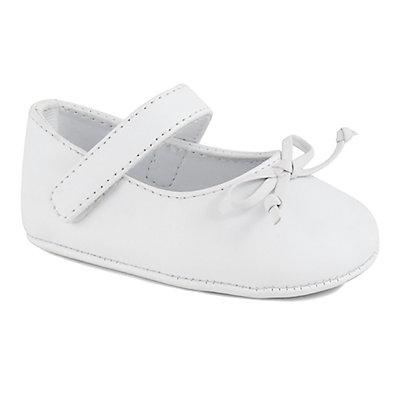 Baby Girl Wee Kids Mary Jane Skimmer Crib Shoes