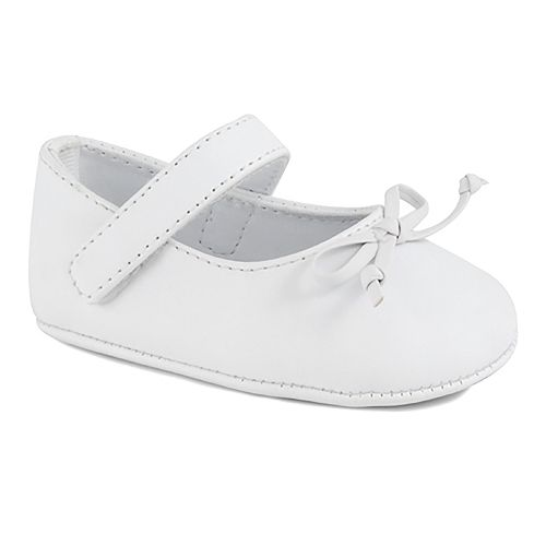 Baby Girl Wee Kids Mary Jane Skimmer Crib Shoes
