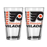 Boelter Philadelphia Flyers Spirit Pint Glass Set